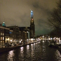 Westerkerk church, near Anne Frank House