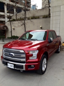 Ford's 2015 F150 is big and tall but also nimble and comfortable