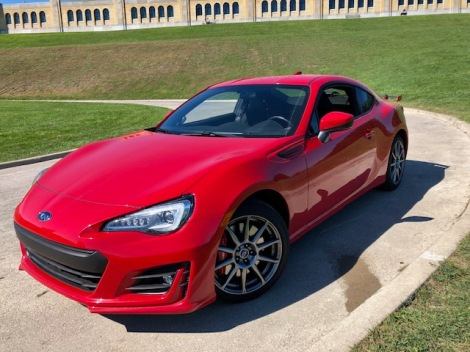 Driving the Subaru BRZ Sport-tech RS